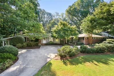 Atlanta Single Family Home For Sale: 2879 Castlewood Drive NW