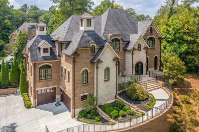 Sandy Springs Single Family Home For Sale: 515 Long Glen Drive