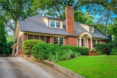 Atlanta Single Family Home For Sale: 1209 N Decatur Road NE