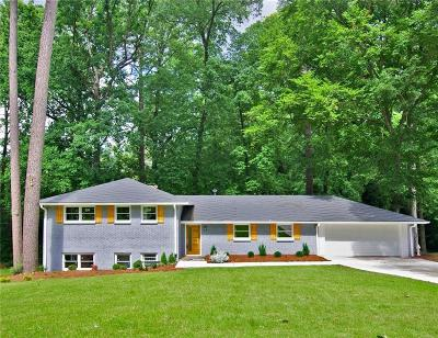 Atlanta Single Family Home For Sale: 1978 Fisher Trail