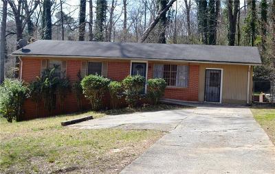 Atlanta Single Family Home For Sale: 2255 Rhinehill Road SE
