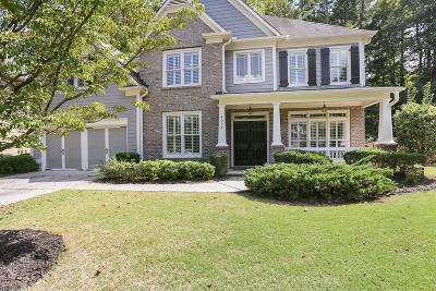 Norcross Single Family Home For Sale: 6052 Norcross Glen Trace