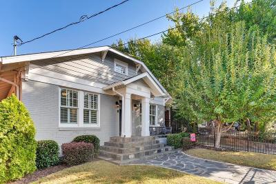 Virginia Highlands Single Family Home For Sale: 1020 Greenwood Avenue NE