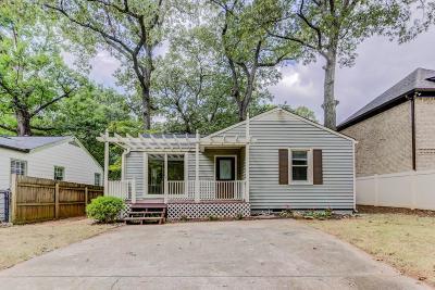 Atlanta Single Family Home For Sale: 1449 Funston Avenue SE