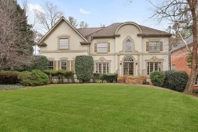 Alpharetta Single Family Home For Sale: 9345 Nesbit Lakes Drive