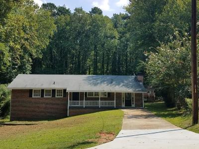 Austell Single Family Home For Sale: 1774 Fairview Circle SE