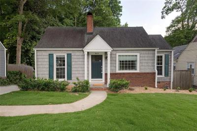 Cobb County Rental For Rent: 243 Maple Avenue NW