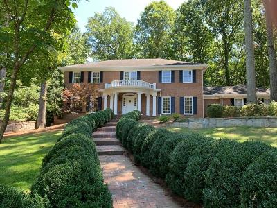 Sandy Springs Single Family Home For Sale: 755 River Gate Drive