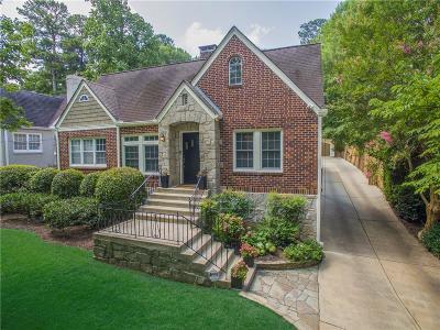 Atlanta Single Family Home For Sale: 1087 E Rock Springs Road NE