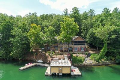 Rabun County Single Family Home For Sale: 17 Lands End Lane