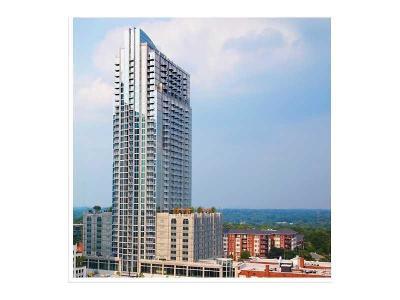 Atlanta Condo/Townhouse For Sale: 855 Peachtree Street NE #2408