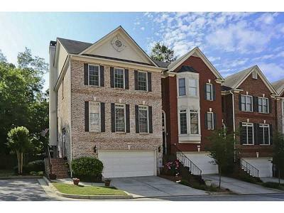 Brookhaven Condo/Townhouse For Sale: 2136 Briarwood Bluff