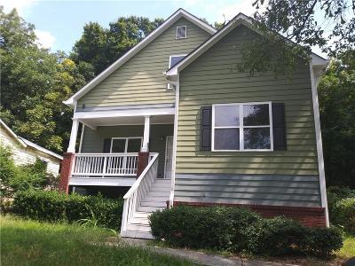 Atlanta Rental For Rent: 139 Dahlia Avenue NW