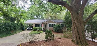 Atlanta Single Family Home For Sale: 1022 Shepherds Lane NE