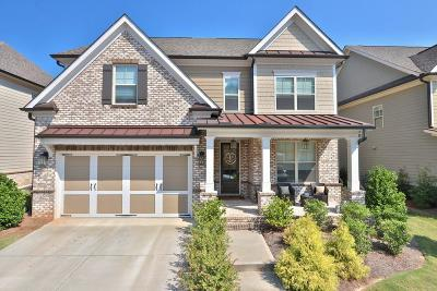 Suwanee Single Family Home For Sale: 11395 Crestview Terrace