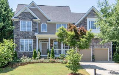 Suwanee Single Family Home For Sale: 3840 Old Suwanee Road