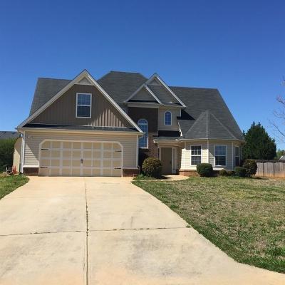 Douglasville Single Family Home For Sale: 68 Craig Meadows Lane