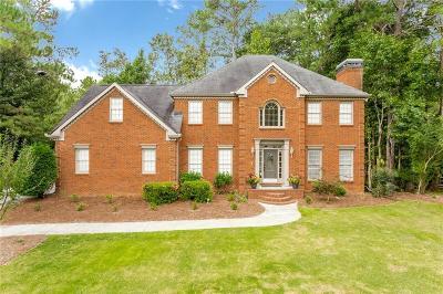 Marietta Single Family Home For Sale: 1154 Ward Creek Drive SW