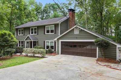 Sandy Springs GA Single Family Home For Sale: $439,000