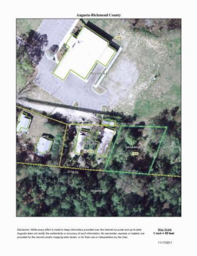 Augusta Residential Lots & Land For Sale: 3620 Peach Orchard Road