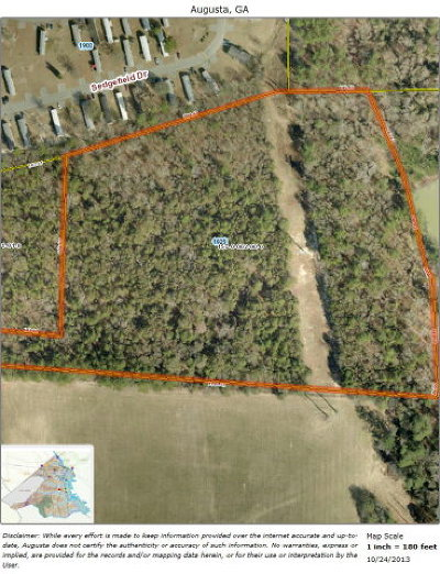 Augusta Residential Lots & Land For Sale: 1925 Tobacco Road