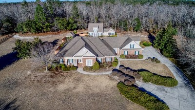 Aiken Single Family Home For Sale: 631 Oak Meadow Lane