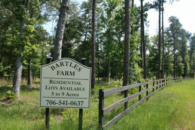 Appling Residential Lots & Land For Sale: 19,20,21 Tom Bartles Road