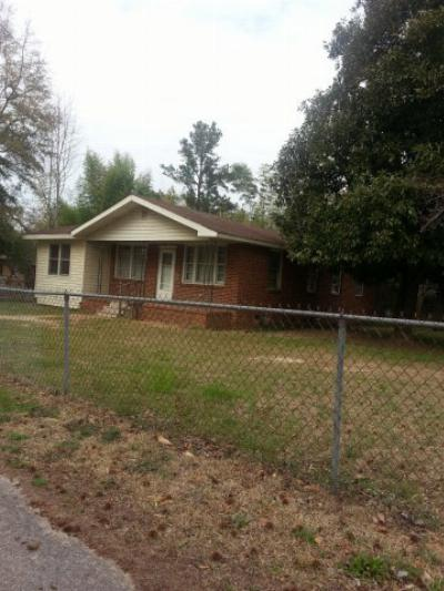 North Augusta Single Family Home For Sale: 611 Burnside Ave