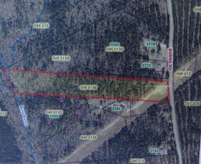 Appling Residential Lots & Land For Sale: Burns Road