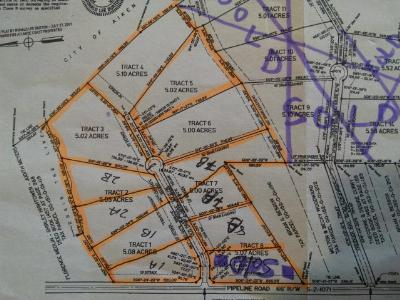 Aiken Residential Lots & Land For Sale: Lot 7a Old Draft Trail