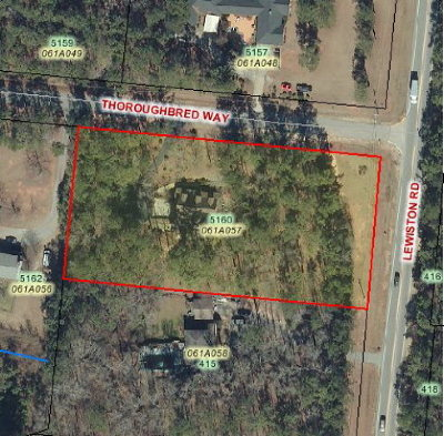 Residential Lots & Land For Sale: 5160 Thoroughbred Way