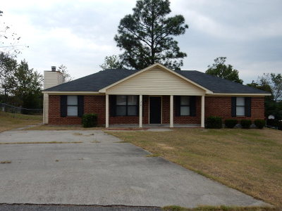 Hephzibah Single Family Home For Sale: 2181 Ramblewood Drive