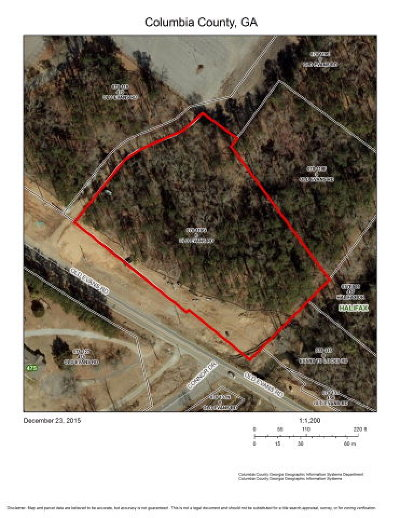 Columbia County Residential Lots & Land For Sale: 4355 Riverwatch Parkway