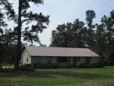 Richmond County Single Family Home For Sale: 2090 George Vance Road