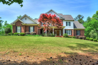 Evans Single Family Home For Sale: 2535 Falling Branch Lane