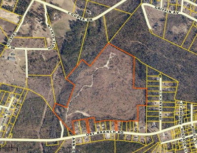 Aiken Residential Lots & Land For Sale: Dry Branch Road