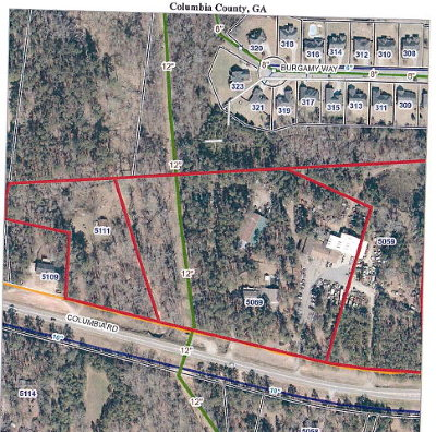 Grovetown Residential Lots & Land For Sale: 5069 Columbia Road