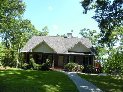 Lincoln County Single Family Home For Sale: 1173 Fishing Creek Estates Road