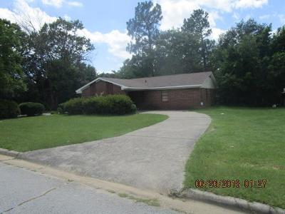 Hephzibah Single Family Home For Sale: 3603 Spanish Trace Drive