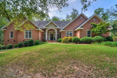 North Augusta Single Family Home For Sale: 404 Lake Murray Drive