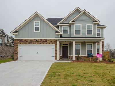 Hephzibah Single Family Home For Sale: 3932 Lakeside Pass