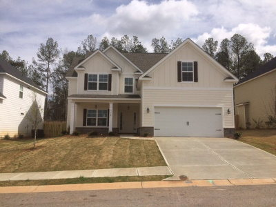 Grovetown Single Family Home For Sale: 3940 Berkshire Way