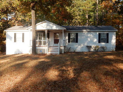 Lincolnton Manufactured Home For Sale: 1080 Oak Court