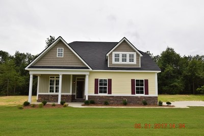 Richmond County Single Family Home For Sale: 1359 Oakridge Plantation Road