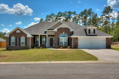 Hephzibah Single Family Home For Sale: 4743 Weldon Adams Drive