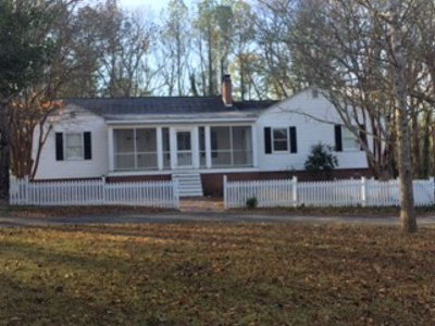 Single Family Home For Sale: 124 Crawfordville