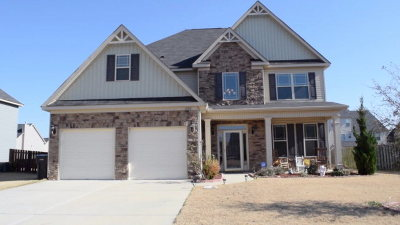 Grovetown Single Family Home For Sale: 1122 McCoys Creek Road