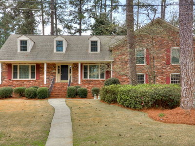 Augusta Single Family Home For Sale: 408 Waverly Drive