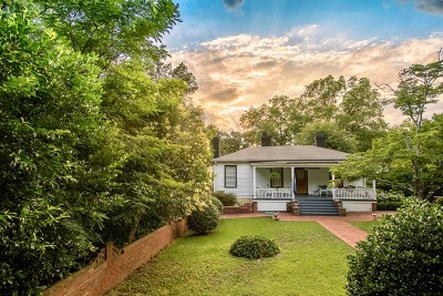 Aiken Single Family Home For Sale: 357 Chesterfield Street