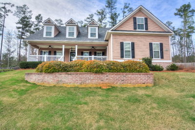 North Augusta Single Family Home For Sale: 129 Oak Brook Drive